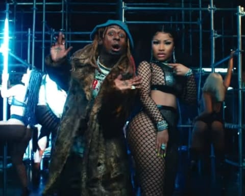New Video Nicki Minaj (Ft. Lil Wayne) - Good Form