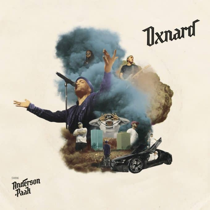 Stream Anderson .Paak's New Album 'Oxnard' Feat. J. Cole, Kendrick Lamar, Dr. Dre & More