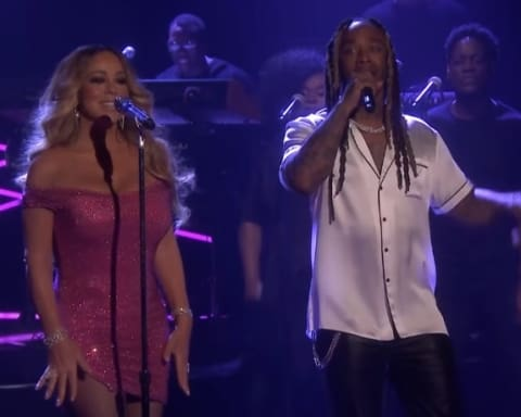 Watch Mariah Carey & Ty Dolla Sign Performs 'The Distance' on Jimmy Fallon Show