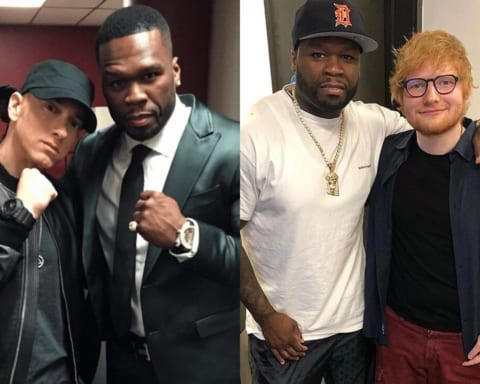 50 Cent Reveals He Recorded A New Song with Eminem & Ed Sheeran