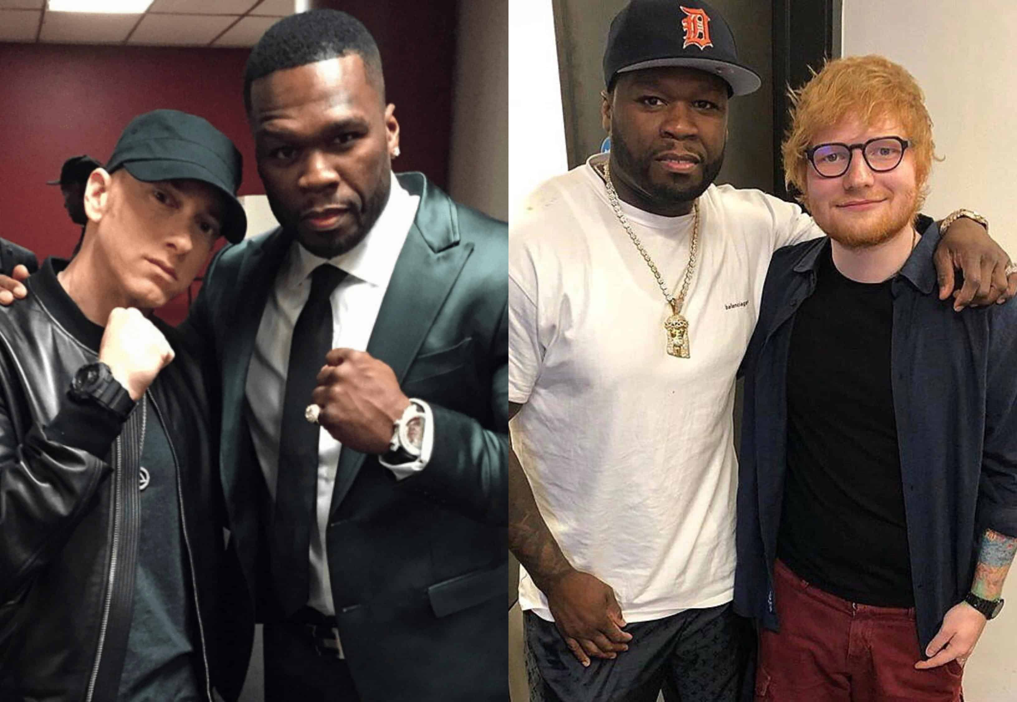 20f1388168e 50 Cent Reveals He Recorded A New Song with Eminem   Ed Sheeran