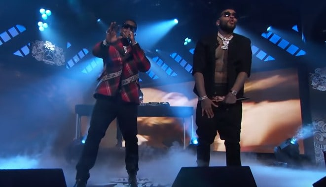 Watch Gucci Mane & Kevin Gates Performs I'm Not Goin on Jimmy Kimmel Live