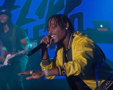 Watch Flipp Dinero performs 'Leave Me Alone' on Jimmy Kimmel Live!