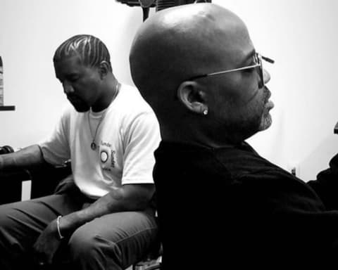 Watch Kanye West Freestyles in Studio with Dame Dash