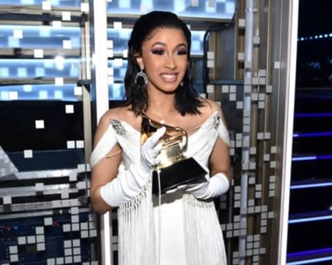 Cardi B wins Grammy For Best Rap Album