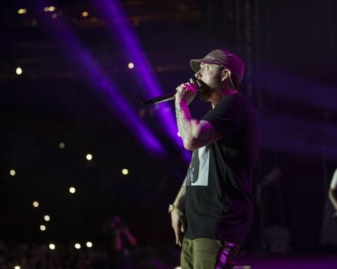 Eminem Wins Best International Solo Act Award At Swiss Music Awards 2019