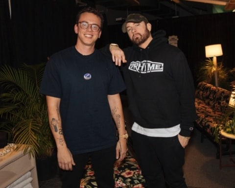 Logic Meets Eminem at Hawaii Concert Backstage