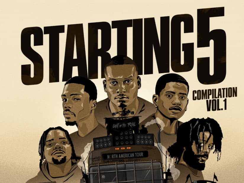 Stream Mass Appeal's 'Starting 5 Vol. 1' EP feat. Nas, Statik Selektah, Black Milk, Stro & More
