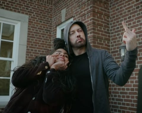Watch Eminem ft. Jessie Reyez - Good Guy (Behind The Scenes Video)