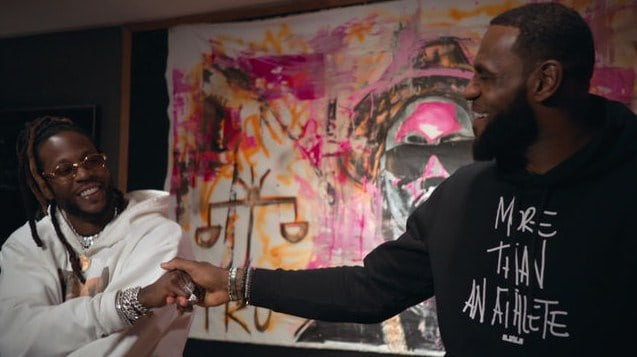 Watch 2 Chainz & LeBron James' 'Rap or Go To The League' Interview