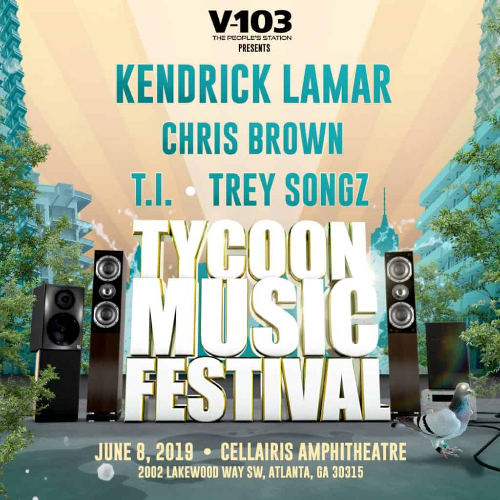Chris Brown, Kendrick Lamar, 50 Cent, T.I. & More to Perform at Inaugural Tycoon Music Festival