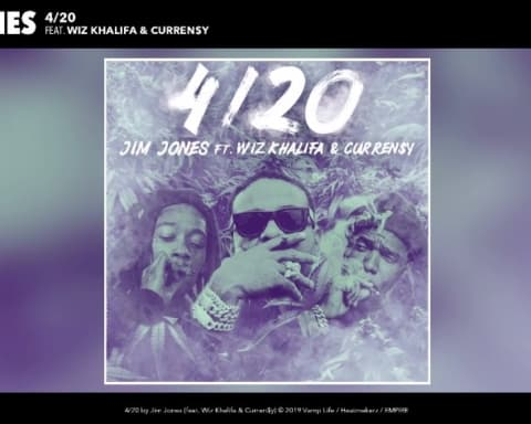 New Music Jim Jones - 420 (Ft. Wiz Khalifa & Currensy)