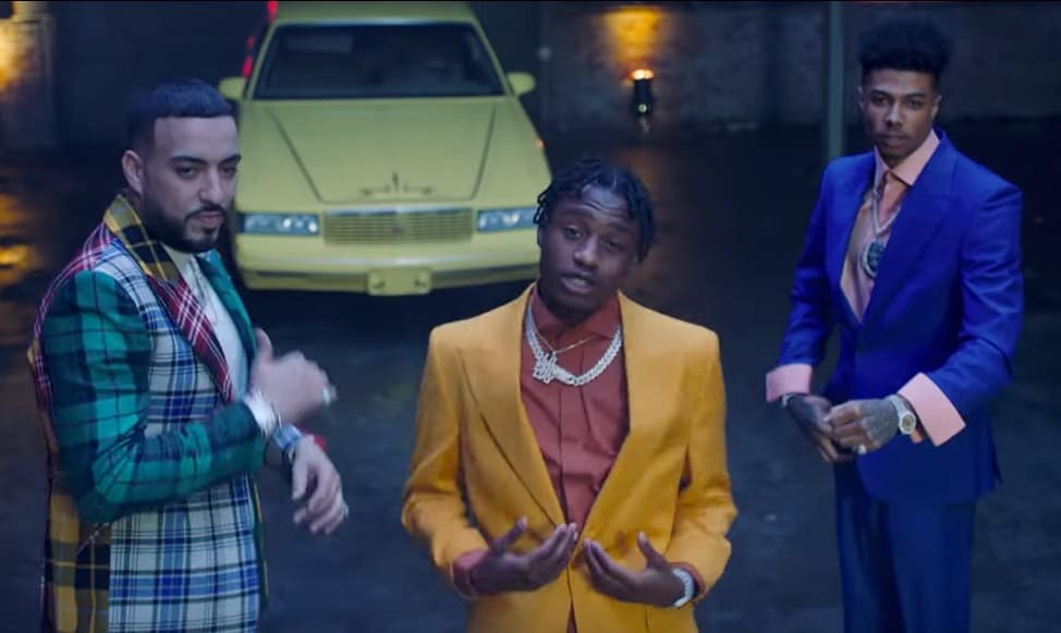 New Video French Montana (Ft. Blueface & Lil Tjay) - Slide