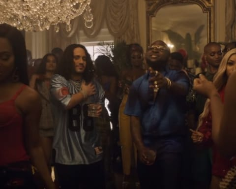 New Video Russ (Ft. Davido) - All I Want