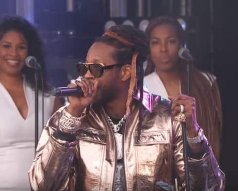 Watch 2 Chainz Performs 'Rule The World' & 'NCAA' on Jimmy Kimmel Live!