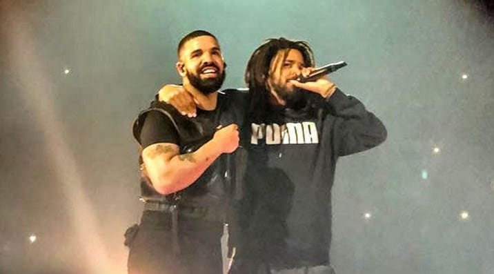 Watch: Drake Brings Out J  Cole in London