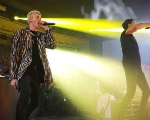 Watch G-Eazy & Machine Gun Kelly Squash beef in LA
