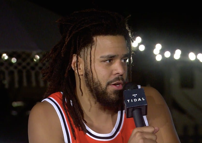 Watch J. Cole's Rap Radar Podcast Interview From Dreamville Fest