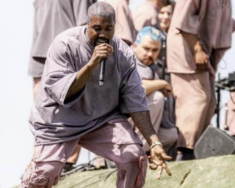 Watch Kanye West Debuts A New Song 'Water' on Coachella Sunday Service