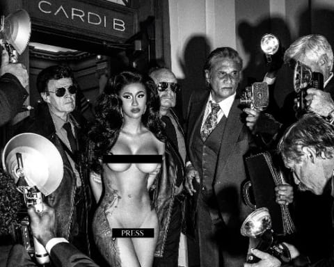 New Music Cardi B - Press