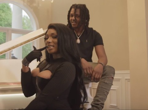 New Video Young Nudy & Pi'erre Bourne (Ft. Megan Thee Stallion) - Shotta