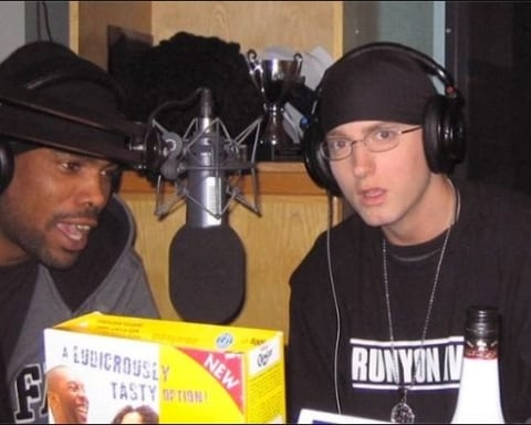 Watch Eminem & Proof's Never Heard Before Tim Westwood Freestyle from 1999