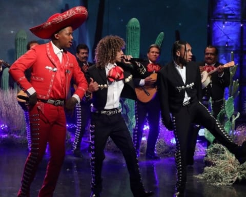 Watch YG, Tyga & Jon Z Performs 'Go Loko' on The Ellen Show