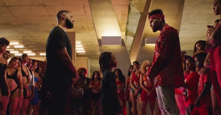 New Video Chris Brown (Ft. Drake) - No Guidance
