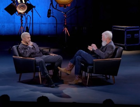 Watch David Letterman Interviews Kanye West on 'My Next Guest Needs No Introduction'