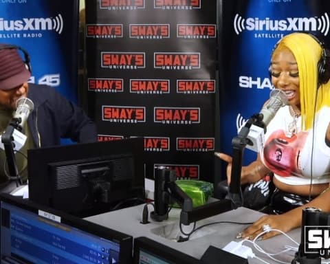 Watch Megan Thee Stallion Freestyles on Sway in the Morning