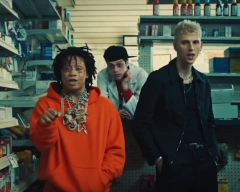 New Video Machine Gun Kelly - Candy (Feat. Trippie Redd)