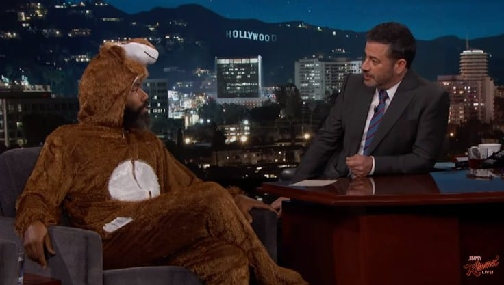 Watch Donald Glover's Interview on Jimmy Kimmel Live