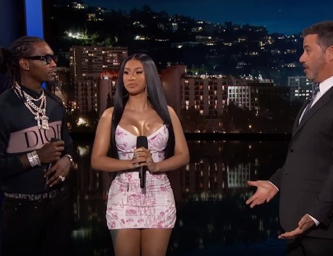 Watch Jimmy Kimmel, Offset & Cardi B Translate New Lyrics for Old People