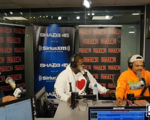 Watch ASAP Ferg & Chance The Rapper's Impromptu Freestyle on Sway In The Morning