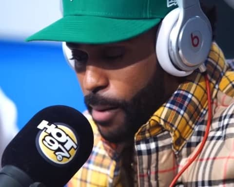 Watch Big Sean's Freestyle on Funkmaster Flex Show