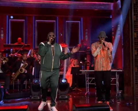 Watch Rick Ross, Swizz Beatz & Just Blaze Performs 'BIG TYME' on Jimmy Fallon's Show