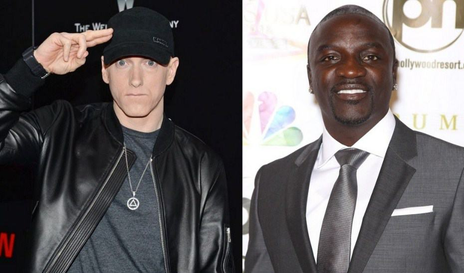Watch Akon Shares A Hilarious Story About How Eminem Works in the Studio