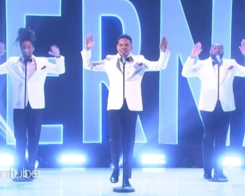 Watch Chance The Rapper Performs 'Eternal' on The Ellen Show