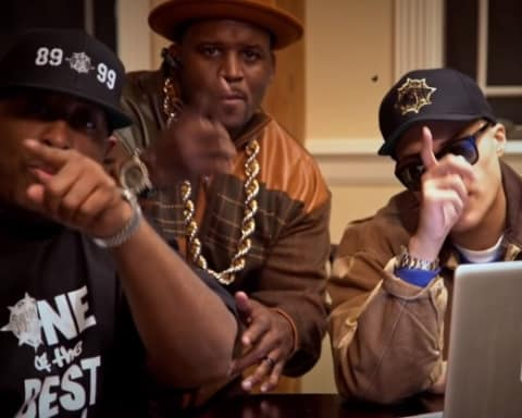 New Video Gang Starr - Bad Name