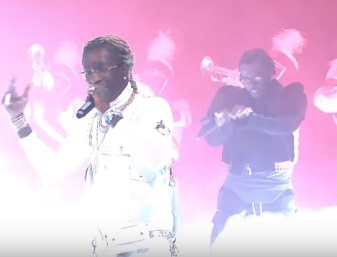 Watch Young Thug & Gunna Perform 'Hot' on Jimmy Fallon's Show