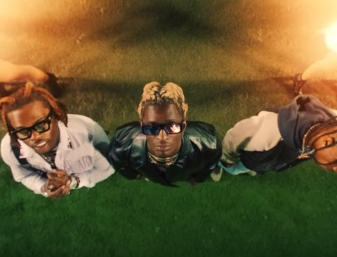 New Video Young Thug - Hot (Remix) (Feat. Gunna & Travis Scott)