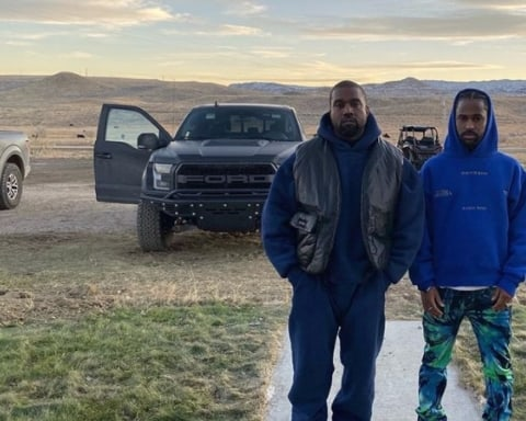 Watch Big Sean & Kanye West Record New Music in Wyoming Studio