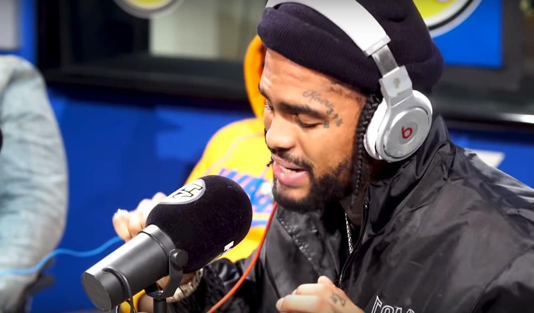 Watch Dave East's Freestyle on Funk Flex's Show