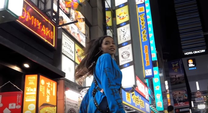 New Video Tinashe - SAVE ROOM FOR US