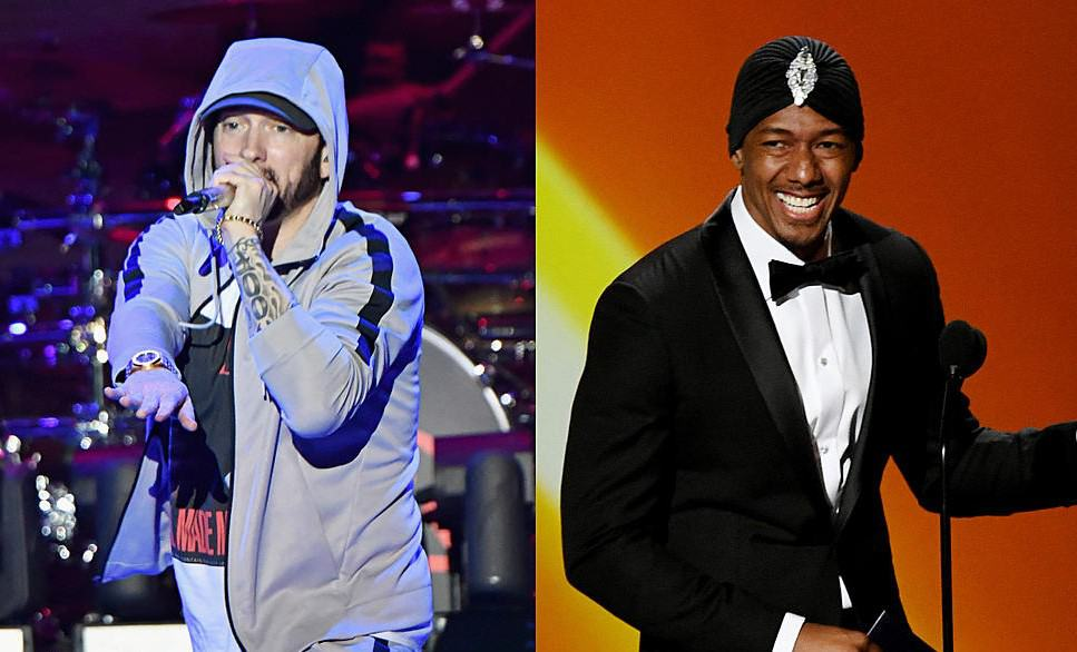 Nick Cannon Drops Another New Eminem Diss Track 'Pray For Him'
