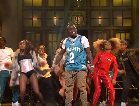 Watch DaBaby Performs 'Suge' & 'BOP' on Saturday Night Live